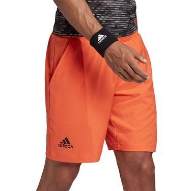 adidas Primeblue Short Mens Black/True Orange FK0816