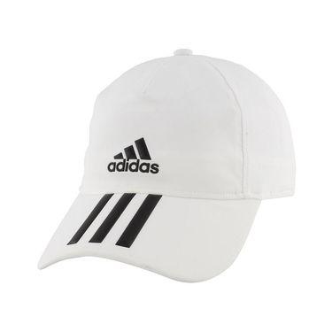 adidas Tennis 3S Aeroready Hat - White/Black