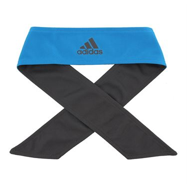 adidas Tennis Reversible Tieband - Sharp Blue/Grey Six