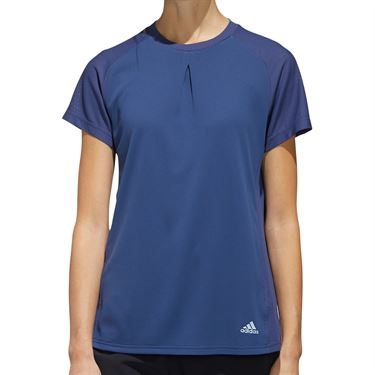 adidas Tee Shirt Womens Tech Indigo FK1392