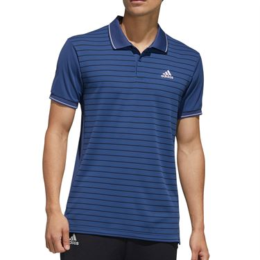 adidas Polo Mens Tech Indigo FK1413