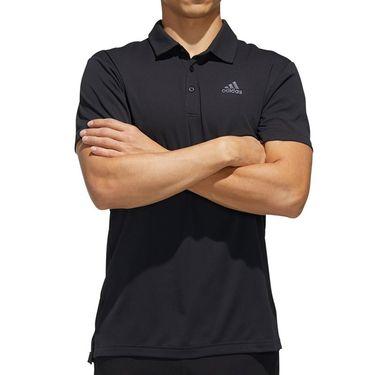adidas Polo Mens Black FK1414