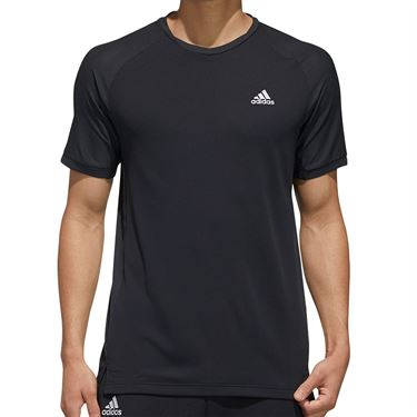 adidas Tee Shirt Mens Black FK1418