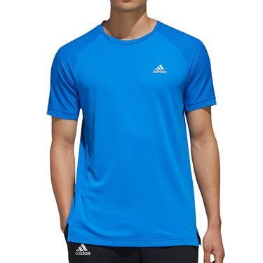 adidas Tee Shirt Mens Glory Blue FK1421