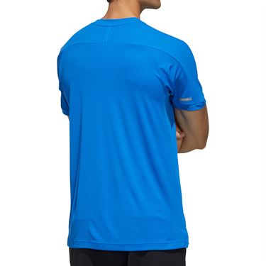 adidas Tee Shirt Mens Glory Blue FK1421