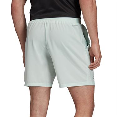 adidas Club Short 7 inch Mens Green Dash/Grey Six FK6936