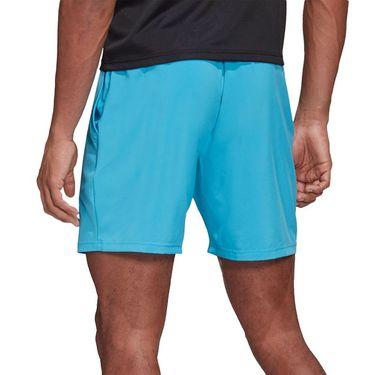 adidas Club 7 inch Short Mens Fresh Splash/Grey Six FK6944