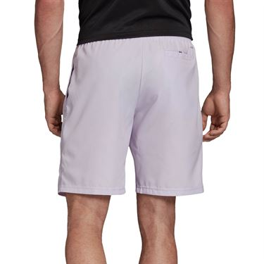 adidas Club Short 9 inch Mens Purple Tint/Grey Six FK6943
