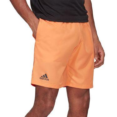 adidas Club 9 inch Short Mens Amber Tint/Grey Six FK6944