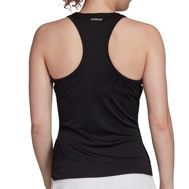 adidas Club Tank Womens Black/Matte Silver/White FK6981