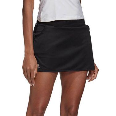 adidas Club Skirt Womens Black/Matte Silver/White FK6989