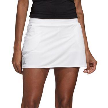 adidas Club Skirt Womens White/Matte Silver/Black FK6990