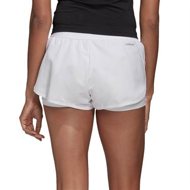 adidas Club Short Womens White/Matte Silver/Black FK6998