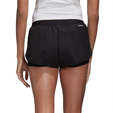 adidas Club Short Womens Black/Matte Silver/White FK6999