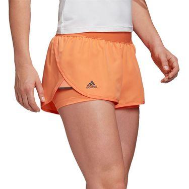 adidas Club Short Womens Amber Tint/Grey Six FK7000