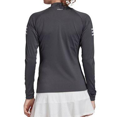 adidas Club Midlayer 1/4 Zip Womens Grey Six/Purple Tint FK7001