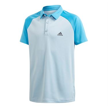 adidas Boys Club Polo Easy Blue/Fresh Splash FK7153