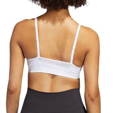 adidas All Me 3-Stripes Bra Womens White/Black FL2378