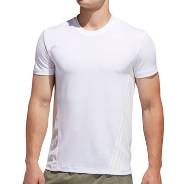 adidas Aeroready 3S Tee Mens White FL4310