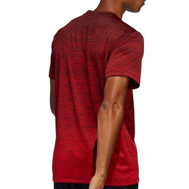 adidas Gradient Tee Shirt Mens Scarlet FL4395