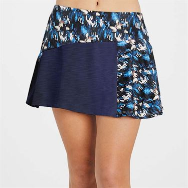 Eleven Flashes Diverge 14 inch Skirt Women Flashes Print FL5604 956