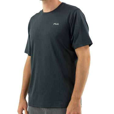 Fila Short Sleeve Performance Crew - Black