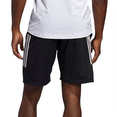 adidas Tech 3 Stripe Short Mens Black FM2107