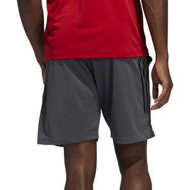 adidas Tech 3 Stripe Short Mens Grey Six FM2109
