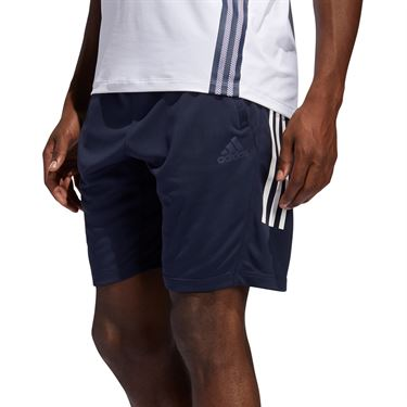 adidas Tech 3 Stripe Short Mens Legend Ink FM2111