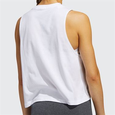 adidas WIP Crop Top Womens White FM2142