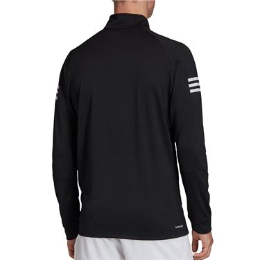adidas Club Midlayer 1/4 Zip Mens Black/White FM2544