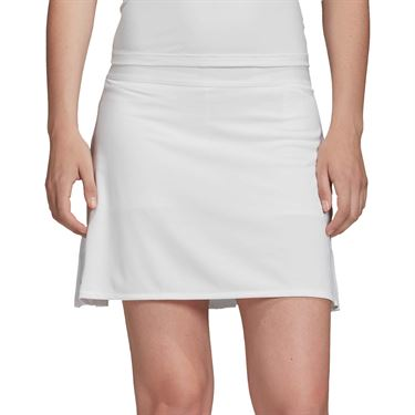 adidas Club Long Skirt Womens White/Matte Silver FM2546