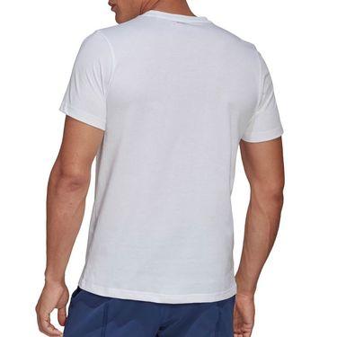 adidas Court Tee Shirt Mens White FM4414