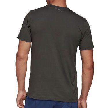 adidas Court Tee Shirt Mens Legend Earth FM4415