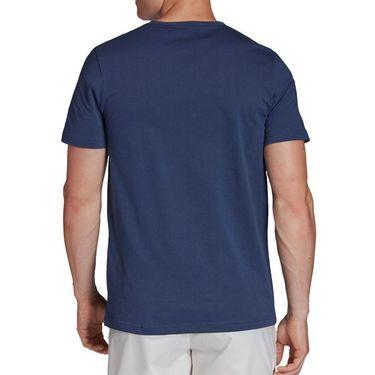 adidas Graphic Tee Shirt Mens Tech Indigo FM4421