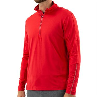 Fila Sintra 1/2 Zip Jacket - Chinese Red