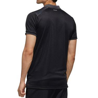 adidas Polo Mens Black/Grey Six FN1451