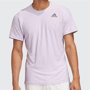 adidas Freelift Tee Shirt Mens Purple Tint FP7966