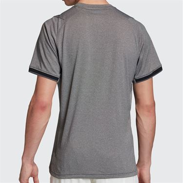 adidas Freelift Tee Shirt Mens Black Melange FP7967
