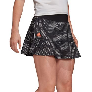 adidas Primeblue Camo Skirt Womens Black/True Orange FQ5110
