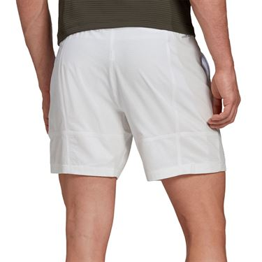 adidas Ergo Tennis Shorts Mens Aeroready White FR4349