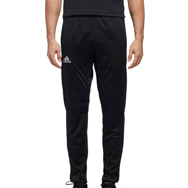 adidas 3-Stripe Knit Tennis Pants Mens Black FS3770