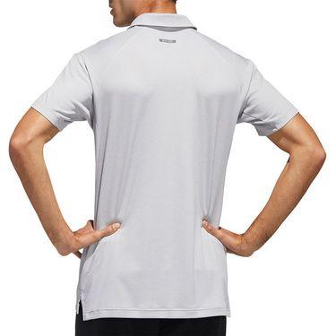 adidas Heather Tennis Polo Shirt Mens Heat.Rdy Grey FS3772