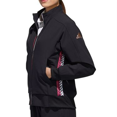 adidas Full Zip Jacket Womens Black FS3801