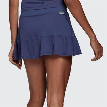 adidas Match Skirt Womens Tech Indigo/Dash Green FS8383