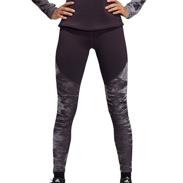 adidas Legging Womens Noble Purple/Black FT3140