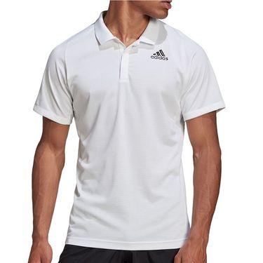 adidas Freelift Polo Shirt Mens White FT5803