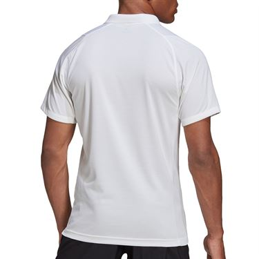 adidas Freelift Polo Shirt Mens White FT5803