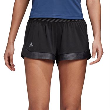 adidas Game Set T Match Short - Black/Grey Three