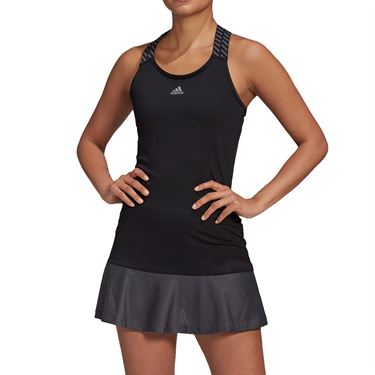 adidas Tennis Y-Dress Womens Black/Grey FT6389